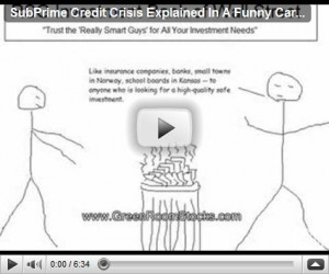 Easiest Way To Understand The Financial & Sub-Prime Crisis